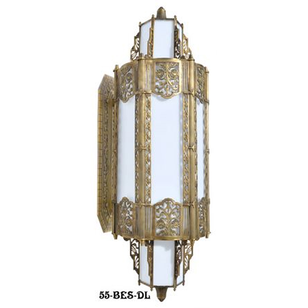 Art deco lighting blog for Art deco exterior light fixtures